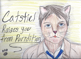 Catstiel by AtomicColor