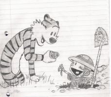 Calvin and Hobbes by OpenSecret