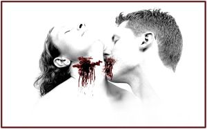Vampire Kiss by UnreCogniZed