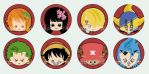 Badges: One Piece by spam-inc