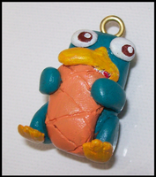 Perry Platypus keyring by BlueSmudge