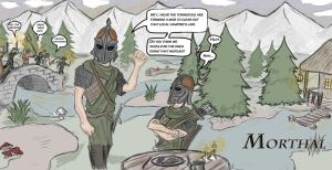 Skyrim: Civic Duty by InvisibleSketcher