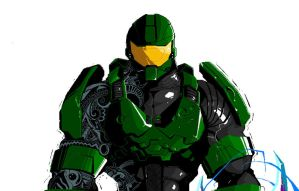 MS Paint Master Chief by RuKuS403