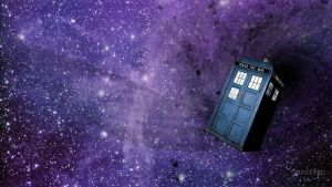 TARDIS wallpaper by Spruffen