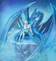 The Fairy of Winter by CLB-Raveneye