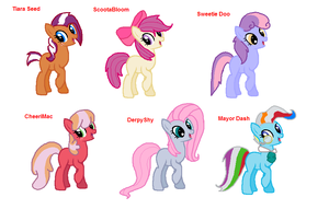 ~MLP~ Shipping Adopts 3- FOR FUN EDITION by XxDrewpuff11xX