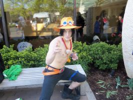 Portgas D. Ace - At ACEN by LadyMischievous