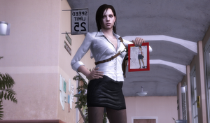Jill Valentine P.I Concept outfit by bstylez