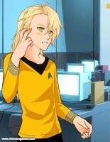 Edward Elric: StarTreck style by Marceline0098