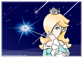 Rosalina-The Lady of the Shooting Stars by mrgardenart