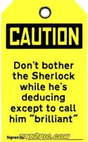 Sherlock: Caution Tag by VampiricYoshi
