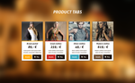 Product tabs freebie by JakubSpitzer