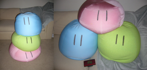 Clannad Giant Dango 3 pc set by pandari
