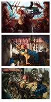 Com: Concept Scenes by Snow-the-Wanderer