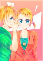 Len and Rin by Linka08