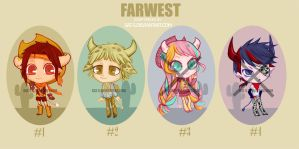 FAR WEST -adoptables- OPEN by sat-s