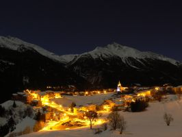 Aussois, France by MadleneP