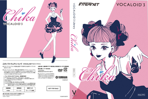 Vocaloid Chika (full boxart) by BleedeKuh