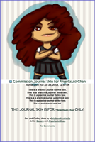 Commission Journal Skin for Angeltsuki-Chan by BrightenYourSmile