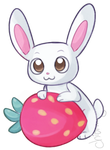 Strawberry bunni by Sunnynoga