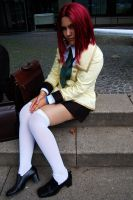 i am just a normal schoolgirl by Franky-chan
