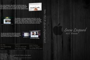 Mac OS X Snow Leopard 10.6 Box by feliipetaumaturgo