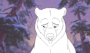 Brother Bear lineart 2 by Xbox-DS-Gameboy