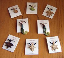 Leaf Pendants by Verdego