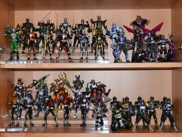 S.H.Figuarts Collection - Shelves #1 and #2 by ZaEmpera