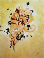 Autumnal Form - Oil Version by AbhaySingh1