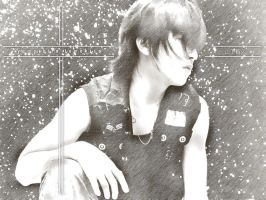 yamapi black and white by sillyjo3