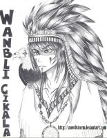 Native American by snow0storm