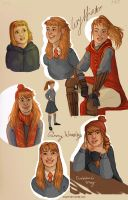 Ginevra Weasley by may12324
