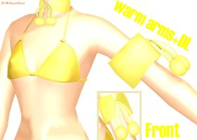 MMD DOWNLOAD: WARM ARMS: by MsYelenaJonas