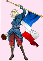 France by Michelangeline