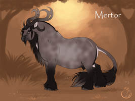 Mertor I Stag I intruder by WolfsMoon1