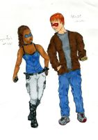 Colin Wilkes and Nell Little by rakefet666