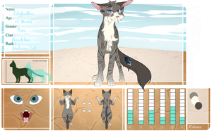 TDS |Lilyfeather | Windclan Med | Info added by PeachmiIk