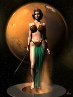 Princess of Mars by gerberc