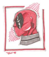 Deadpool profile 10-7 by Glwills1126