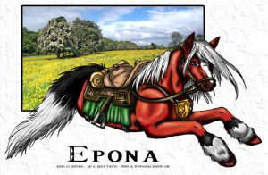 Epona - TP+OOT by Tirivan