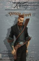 Randy Trigger Happy by absinthe-girl