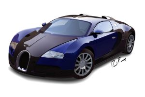 Bugatti Veyron - FINAL by Davidramsey03