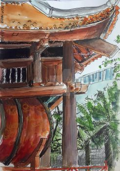 #406 - Drum house by Art-Chap-Enjoin