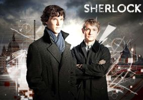 Sherlock Wallpaper by Randomforestlady