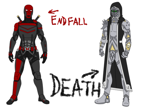 Endfall and Death Concepts by HeadHunterXZI