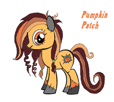 Pumpkin Patch - PONY OC by Starimo
