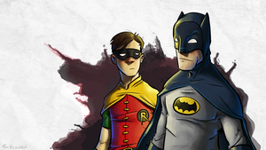 Batman And Robin by tomikari