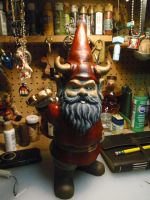 Loknar The Workbench Gnome by hellgnome