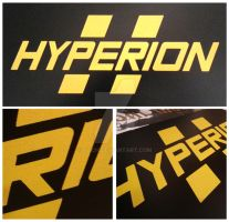 Hyperion Sign by Flich